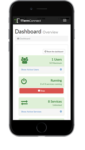 Centralized configuration, reporting and monitoring, from any device.