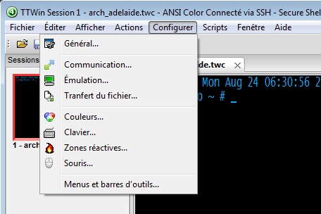 TTWin 4 now offers French and Spanish language support.
