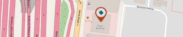 Turbosoft Pty Ltd, Head Office Map