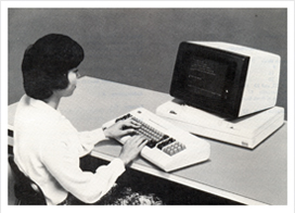 3270, 5250, 3101, 3151, 3164 terminal emulator software. This photo shows an original IBM 3101 terminal. (photo: IBM GA18-2051-3)